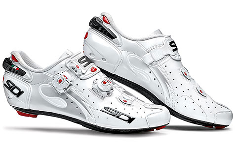 Sidi Wire Carbon Vernice Road Cycling Shoes (White)