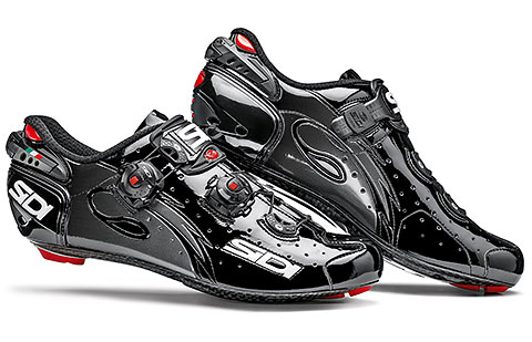 Sidi Wire Carbon Vernice Road Cycling Shoes (Black)