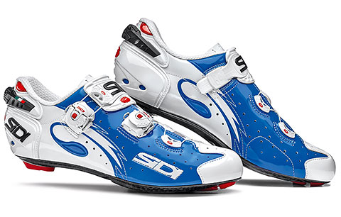 Sidi Wire Carbon Vernice Road Cycling Shoes (Blue/White)