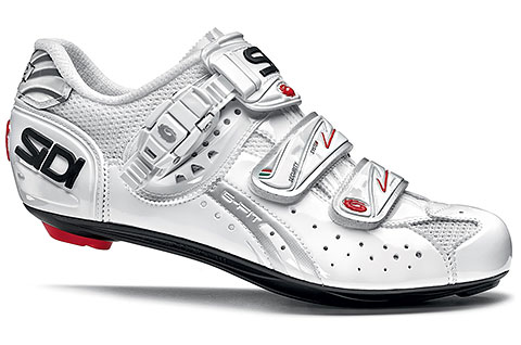 Sidi Genius 5-Fit Carbon Women's Cycling Shoes (White)