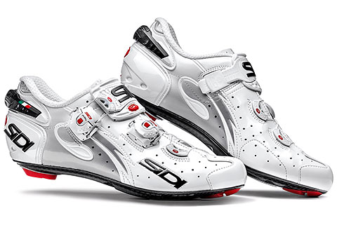 Sidi Wire Carbon Vernice Women's Cycling Shoes (White)
