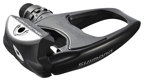 Shimano R540 (Light Action) SPD-SL Road Pedals Black