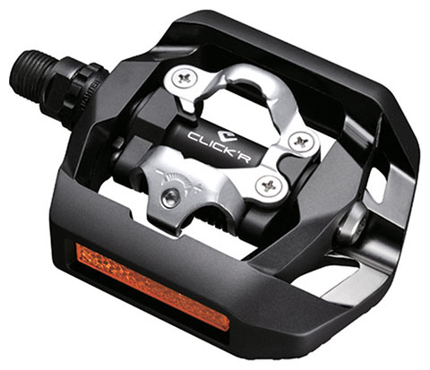 Shimano T420 CLICK'R Pedals Black (Pop-up Mechanism)