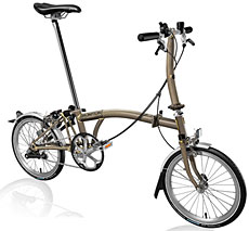 Brompton S Type Folding Bike B-Spoke Custom Build