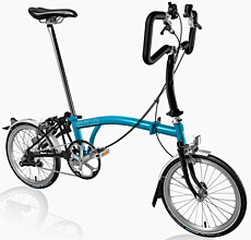 Brompton P Type Folding Bike - B Spoke Custom Build