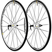 Mavic Ksyrium Equipe S Road Wheelset inc Tyres - White