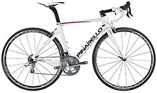 Pinarello 2016 Gan 105/MOst White/Pink Easy-Fit