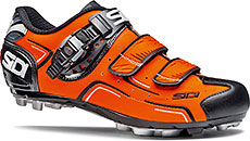 Sidi MTB Buvel Cycling Shoes (Orange Fluo & Black)