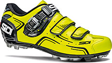 Sidi MTB Buvel Cycling Shoes (Yellow Fluo & Black)