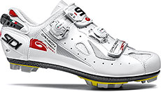 Sidi MTB Dragon 4 Mega Cycling Shoes (White)