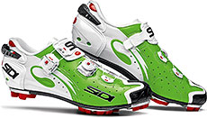 Sidi MTB Drako Cycling Shoes (Green/White)