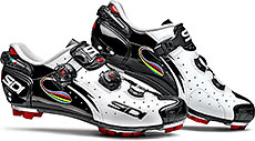 Sidi MTB Drako Cycling Shoes (White/Black/Iride)