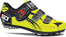 Sidi MTB Eagle 5-Fit Cycling Shoes (Black/Yellow Fluo)