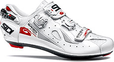 Sidi Ergo 4 Carbon Composite Mega Road Cycling Shoes (White)