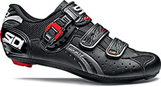 Sidi Genius 5-Fit Carbon Road Cycling Shoes (Black)