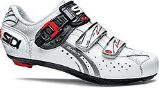 Sidi Genius 5-Fit Carbon Mega Road Cycling Shoes (White)