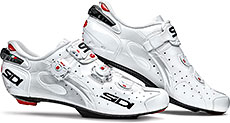 Sidi Wire Carbon SP Road Cycling Shoes (White)