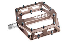 DMR Vault Pedals (9/16) Nickel Grey