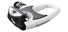 Shimano R540 (Light Action) SPD-SL Road Pedals White
