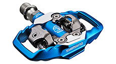 Shimano M995 XTR MTB SPD Trail Pedals Blue (2-Sided Mechanism)