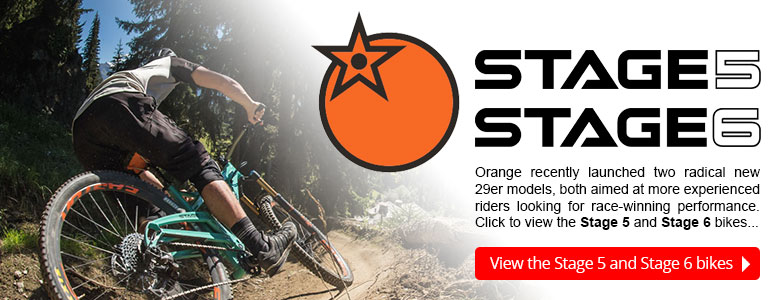 Orange recently launched the Stage 5 and Stage 6 bikes