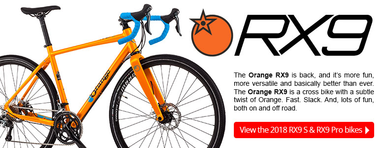 The Orange RX9 is back, and it's more fun, more versatile and basically better than ever